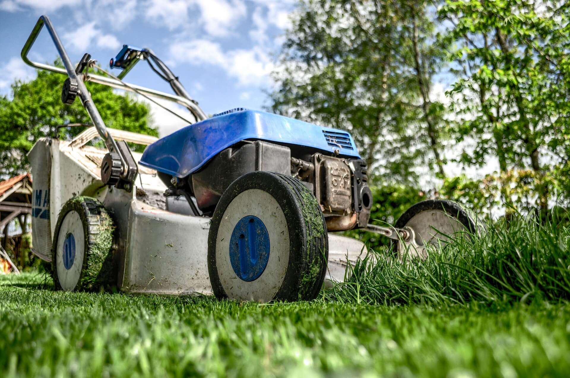 Lawnmower From Arnies Lawn Care